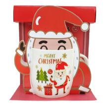 Télapós karácsonyi bögre #3