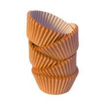 Muffin papír 8 cm narancssárga - 100 db