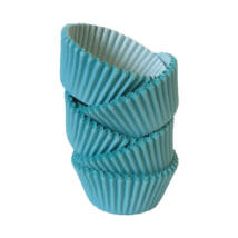 Muffin papír 8 cm világoskék - 100 db