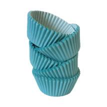 Muffin papír 10 cm világoskék - 100 db
