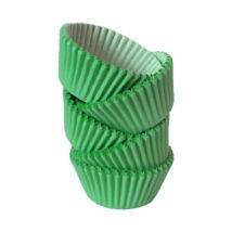 Muffin papír 10 cm zöld - 100 db