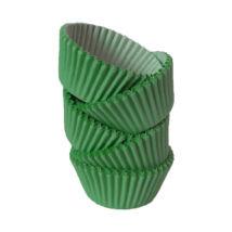 Muffin papír 10 cm sötétzöld - 100 db