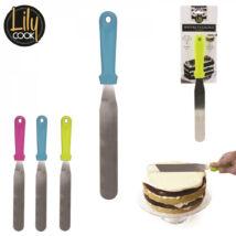 Cukrász spatula kenőkés