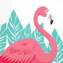 Flamingós szalvéta
