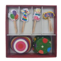 Party muffin dekoráló szett