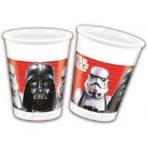 Star Wars-os műanyag pohár 8 db