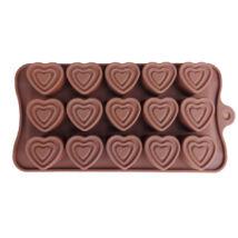 Szív bonbon forma