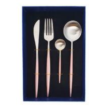 Moderno exclusive evőeszközkészlet - rosegold/ezüst
