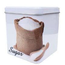 Fémdoboz cukor