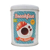 Retro fémdoboz - reggeli