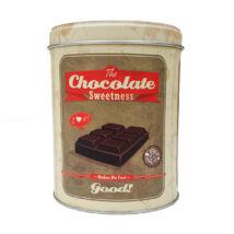 Retro fémdoboz - csoki