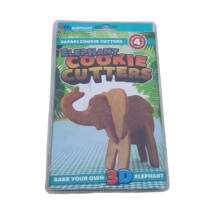 Elefántos 3D-s sütikiszúró