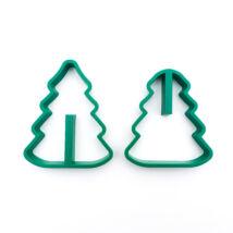 3D-s karácsonyfa kiszúró
