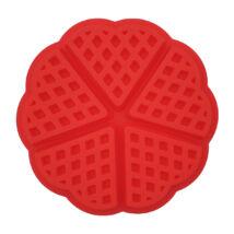 Gofrisütő forma kör alakú