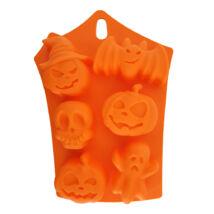 Halloweeni szilikon forma