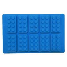 Építő kockák szilikon forma - 10 adagos