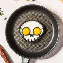 Koponyás tojássütő forma