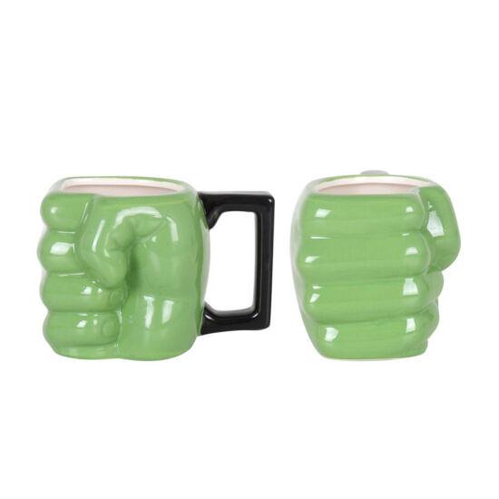 Hulk ököl 3D-s bögre