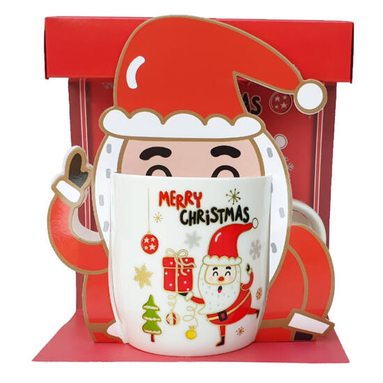 Télapós karácsonyi bögre #1