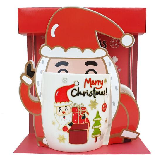 Télapós karácsonyi bögre #2