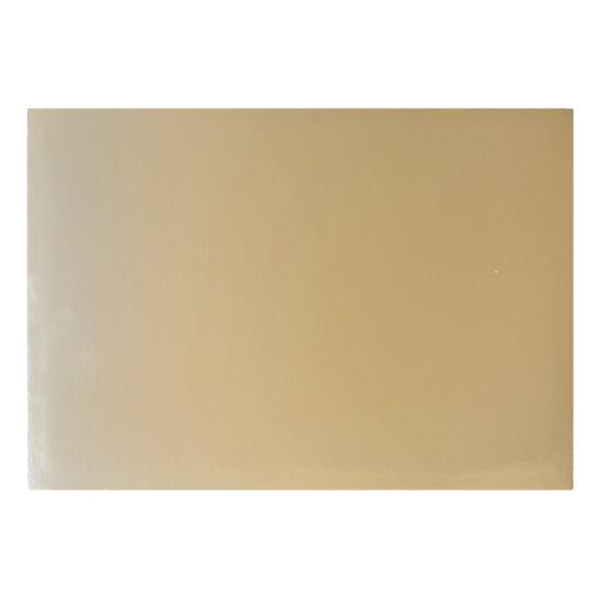Arany téglalap alakú tortakarton, tortaalátét 30x40cm