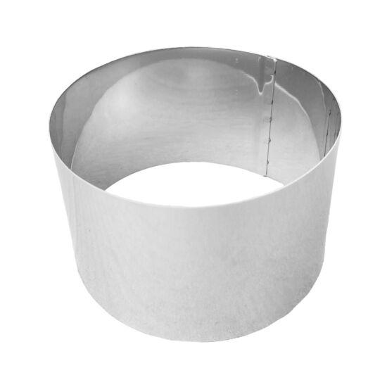 Élelmiszer alakító forma - Tortakarika - 6x4cm