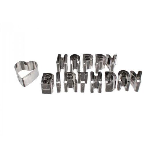 Happy Birthday sütemény kiszúró