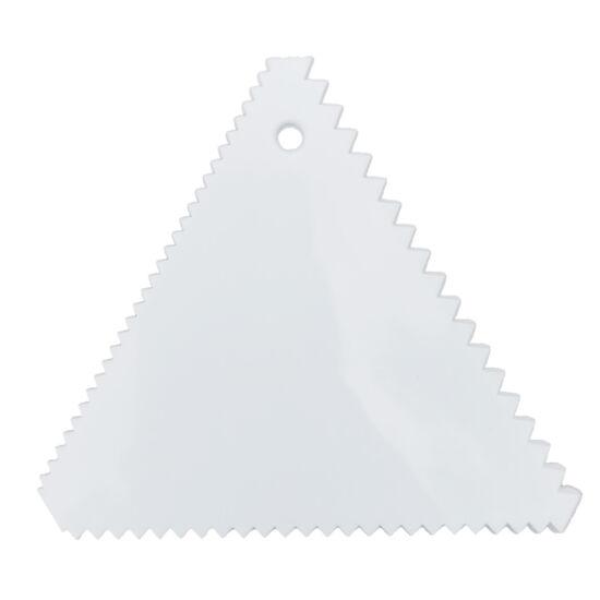 Habkártya - háromszög