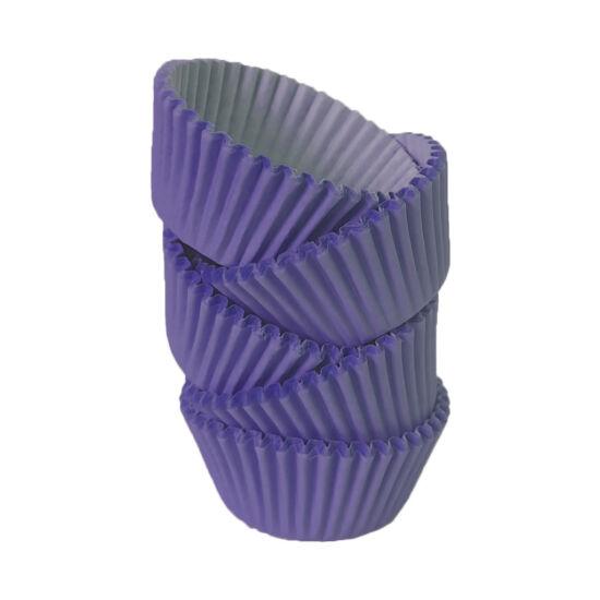 Muffin papír 12 cm lila - 100 db