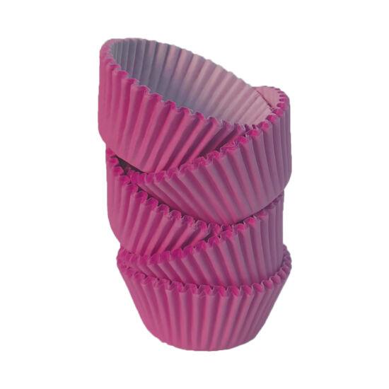 Muffin papír 12 cm magenta - 100 db