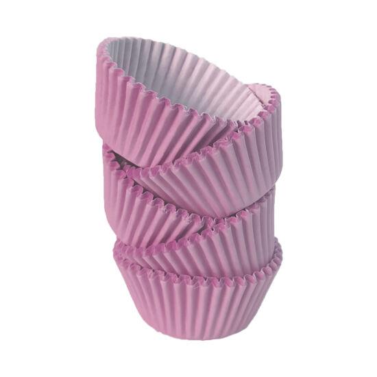 Muffin papír 8 cm rózsaszín