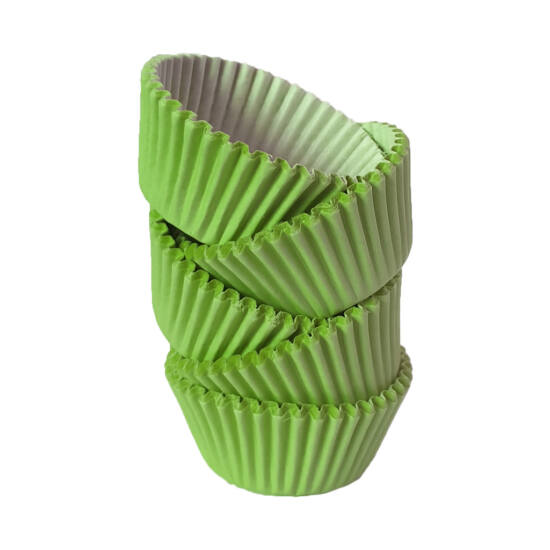 Muffin papír 8 cm zöld