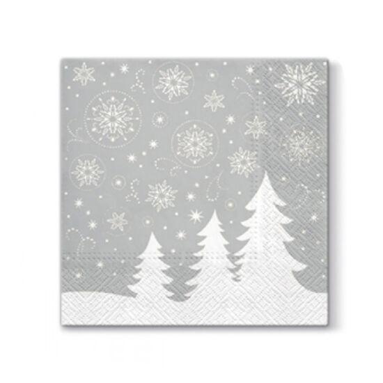 Karácsonyi szalvéta - Fenyőfa - 20db