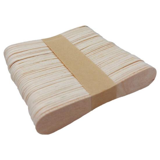 Babapiskóta forma fa spatula, jégkrém pálcika 50db - 9,4cm