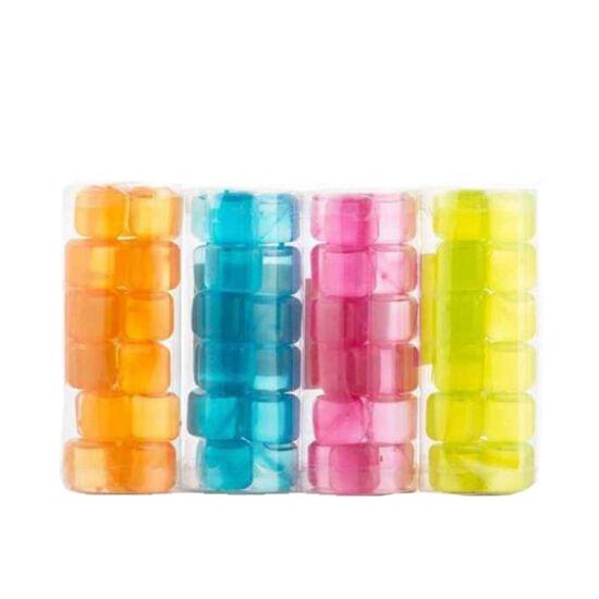 Újrafagyasztható műanyag jégkocka - 20 db