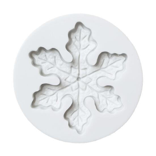 Hópehely fondant/marcipán formázó