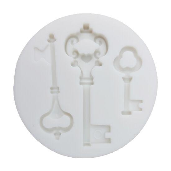 Kulcsok fondant/marcipán forma
