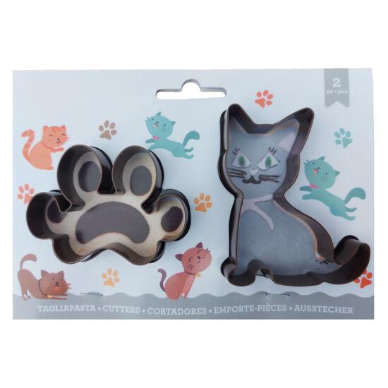 Cica és cica tappancs kiszúró szett