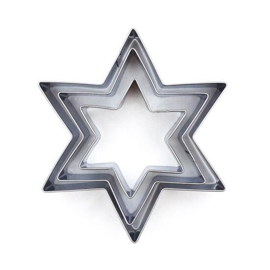 Csillag alakú kiszúró szett 3 db