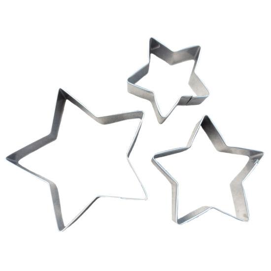 Csillag kiszúró szett 3db #2