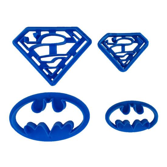 Szuperhősök kiszúró szett - Superman, Batman