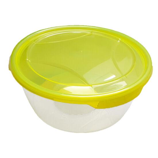 Ételtároló doboz 1 literes - kerek