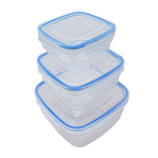 Frissentartó doboz szett - 3 db