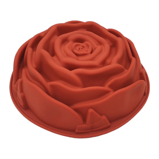 Nagy rózsa szilikon forma