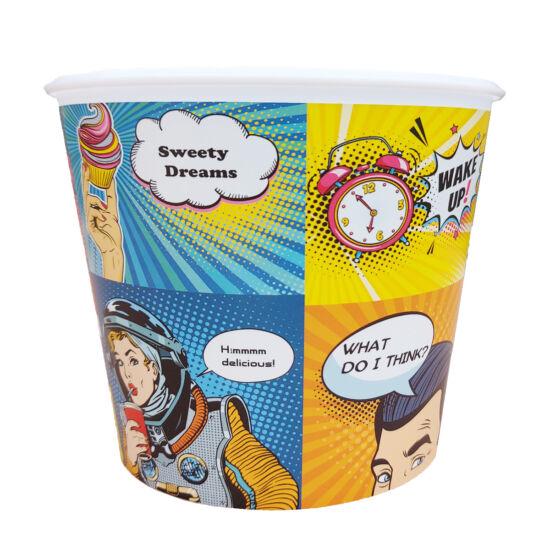 Popcorn vödör - képregény