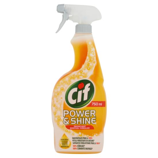 Cif Power and Shine konyhai zsíroldó 750ml