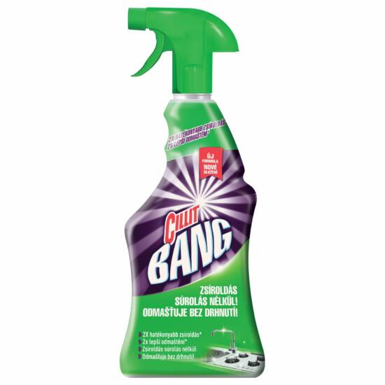 Cillit Bang konyhai zsíroldó spray 750ml